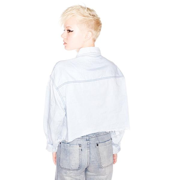 One Teaspoon Cadillac Chambray Shirt