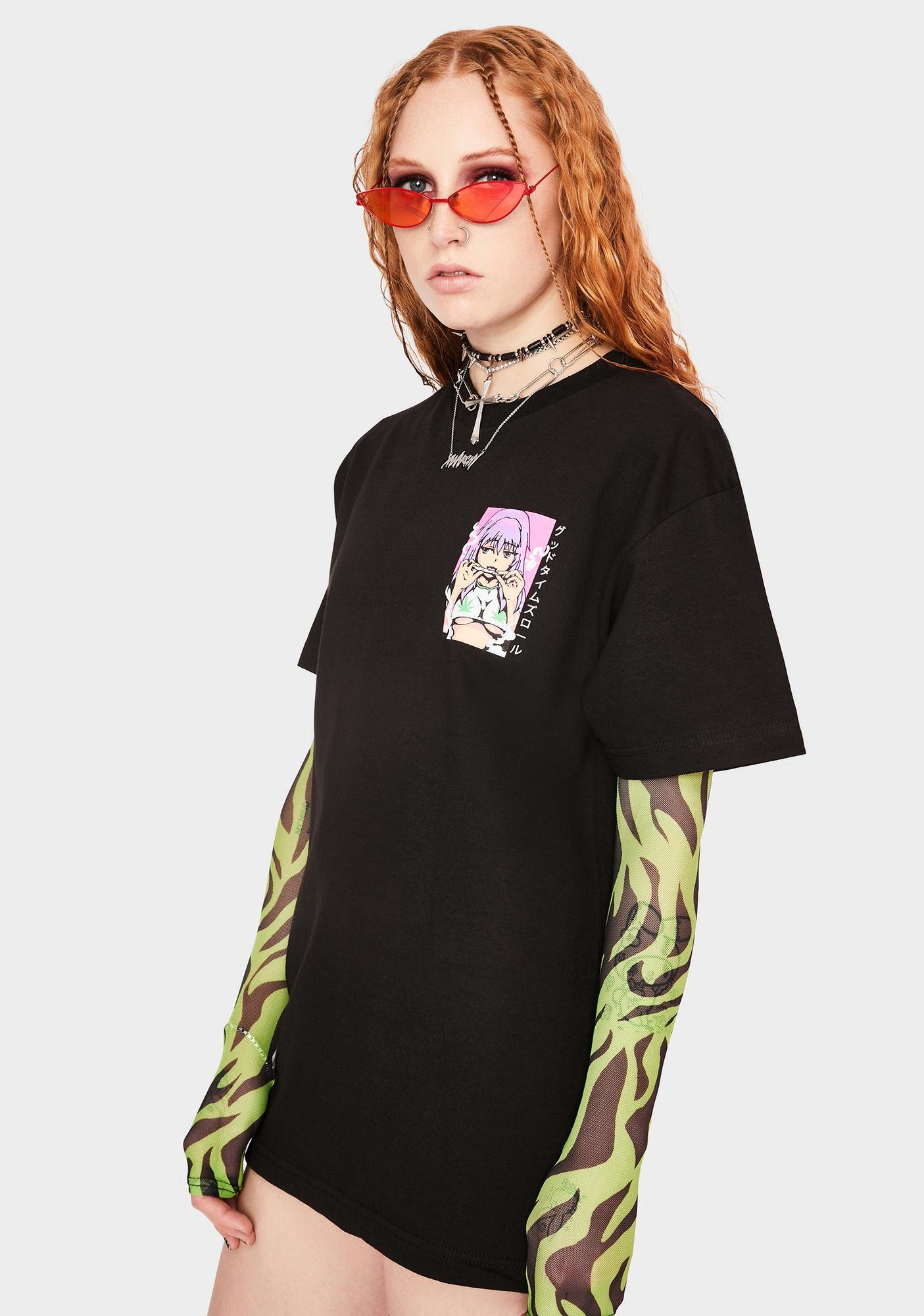Know Bad Daze Good Times Roll Graphic Tee