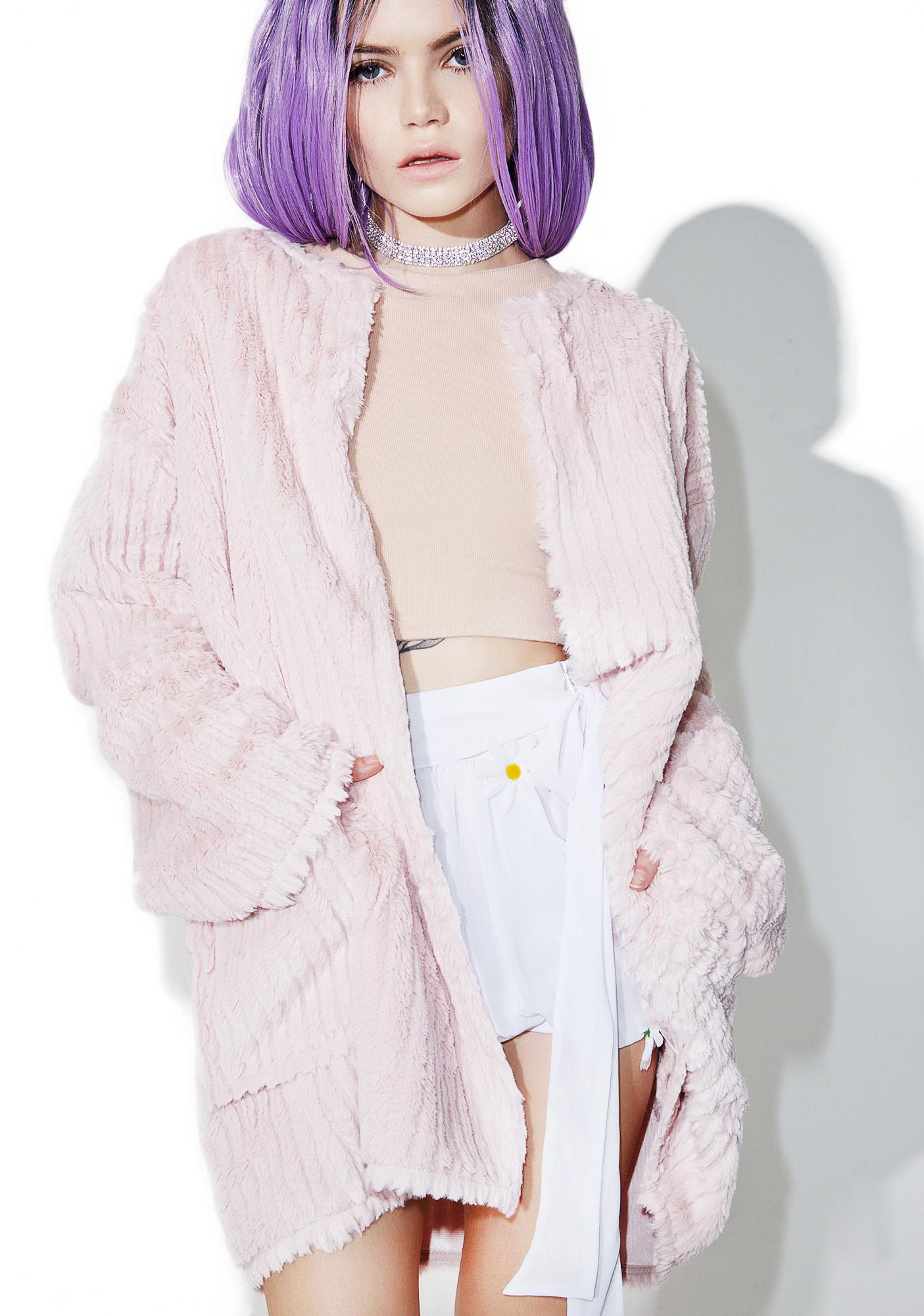 Babydoll Faux Fur Jacket