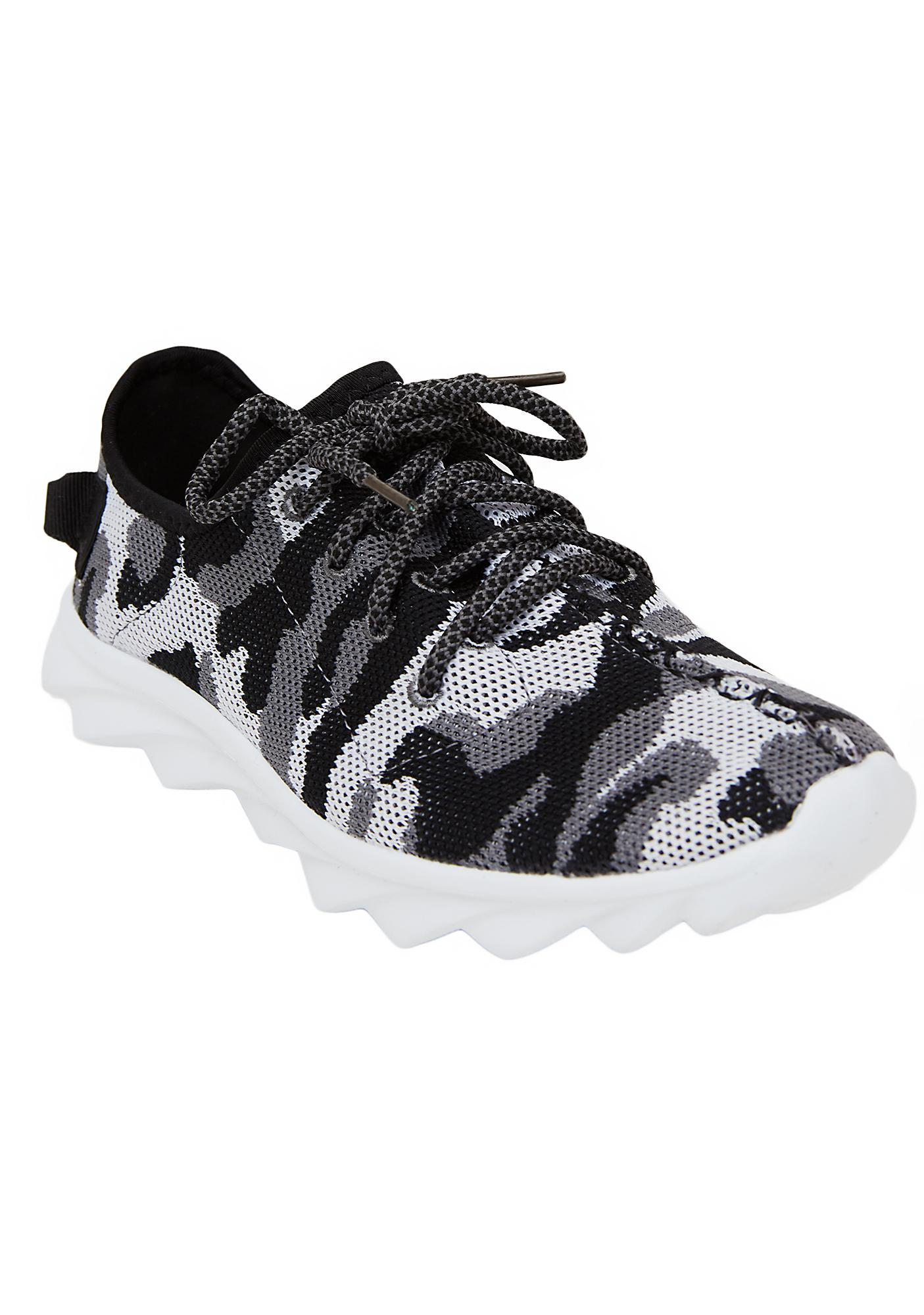 Hidin' Out Camo Sneakers