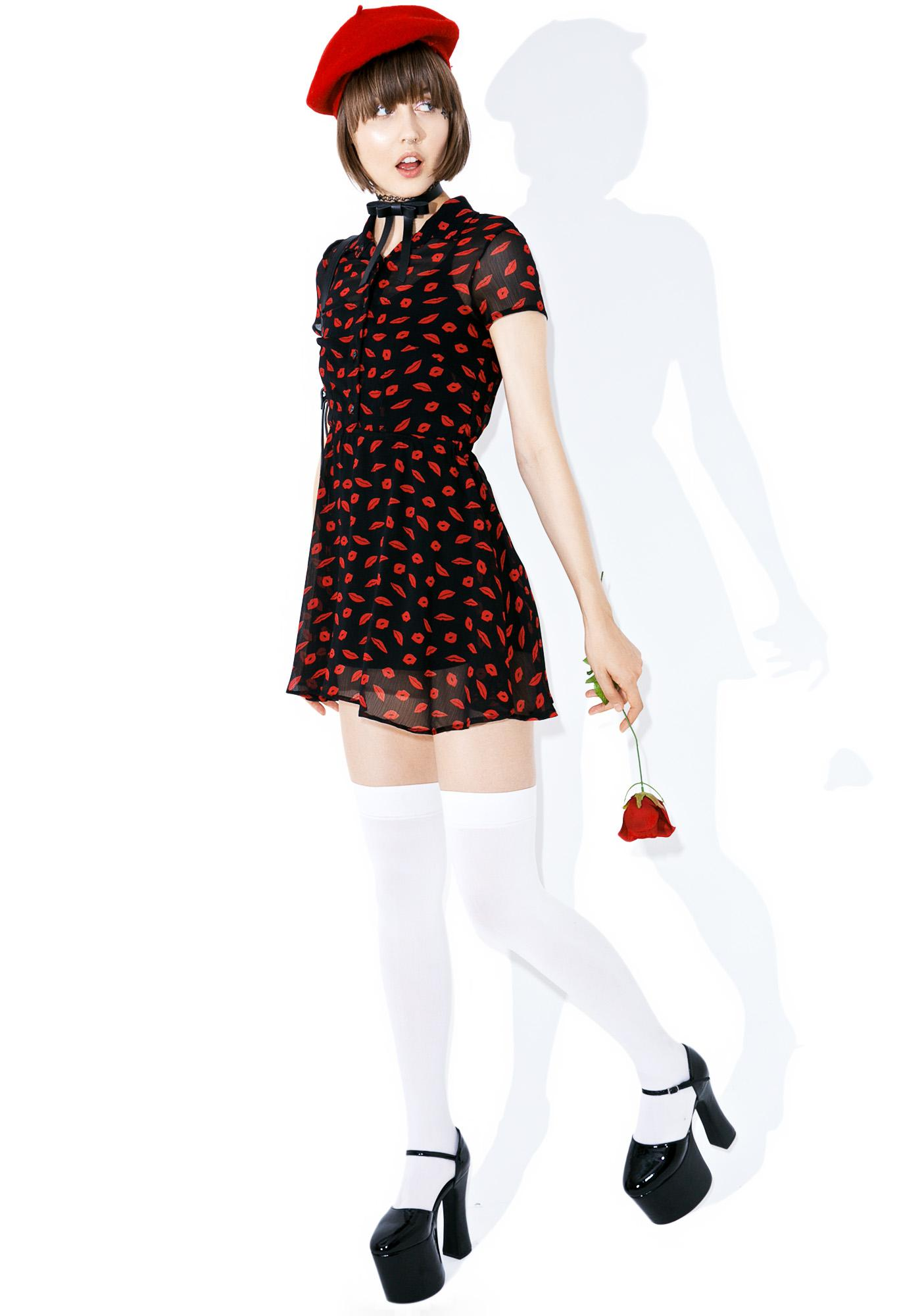 Valfré Besame Collar Dress