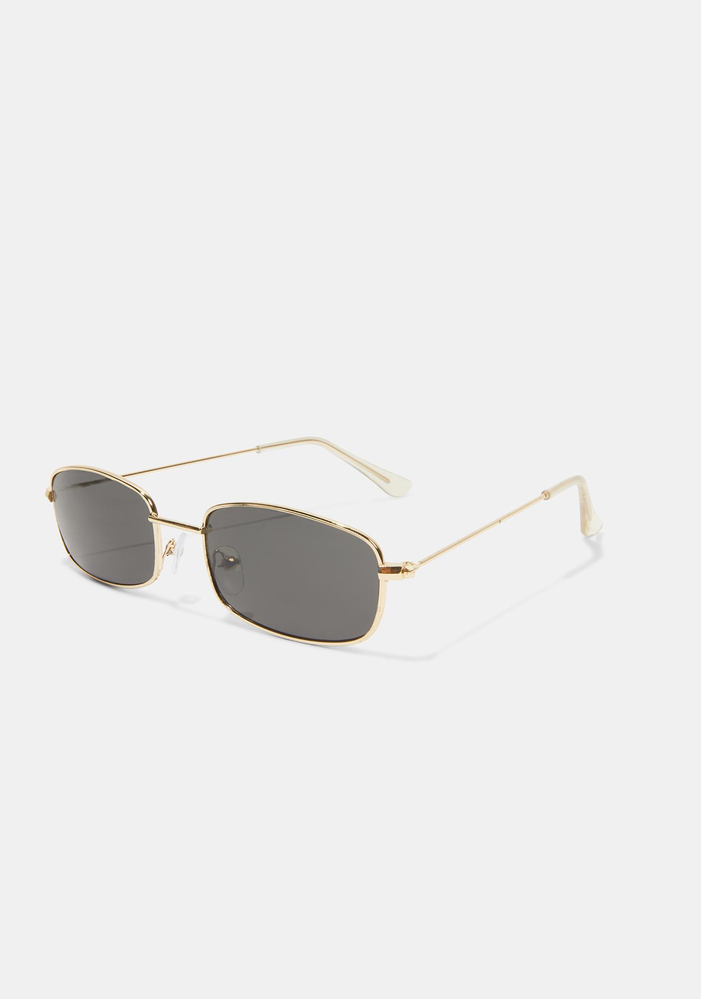 Gilded Neo Age Sunglasses