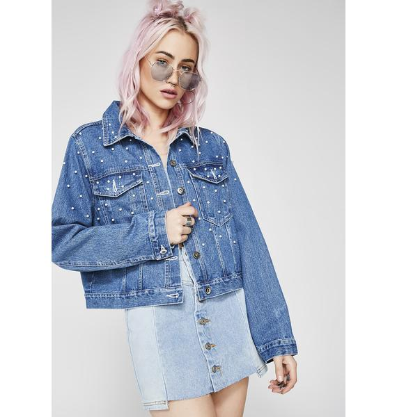 Boujee Bitch Denim Jacket