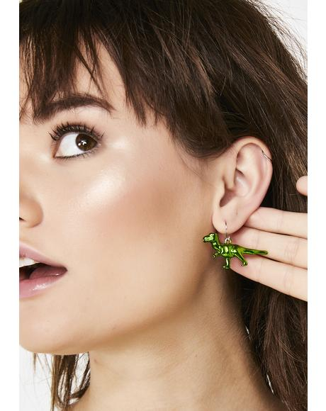 Park Savage T-Rex Earrings