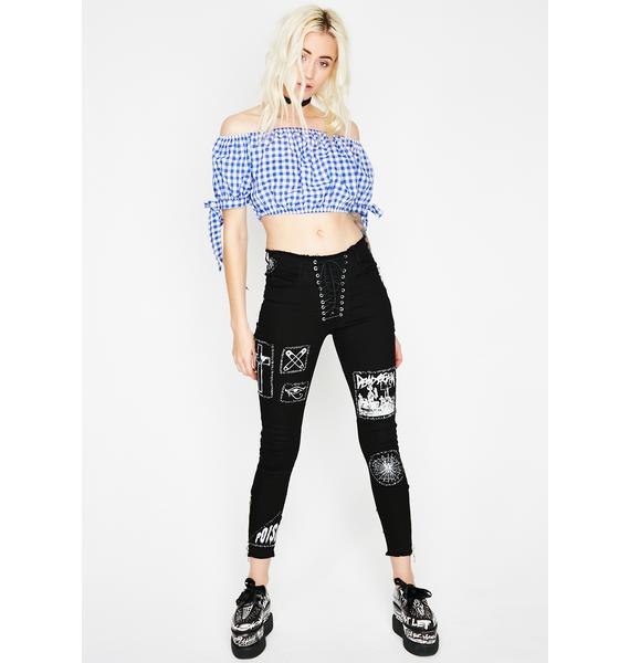 Dorothy Gingham Top