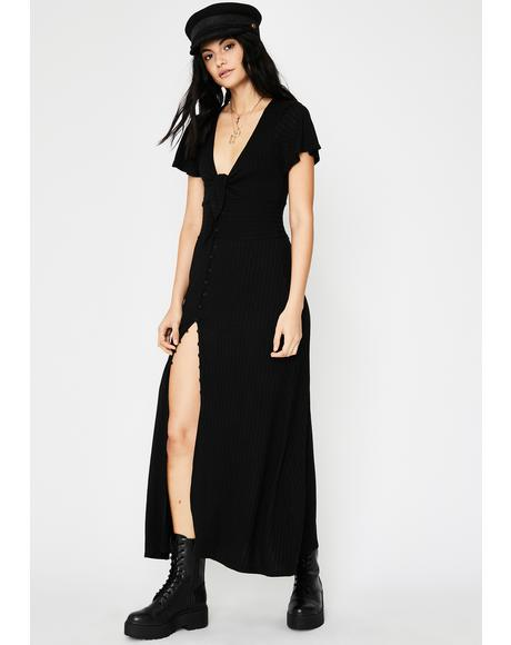Moonlit Mayhem Maxi Dress