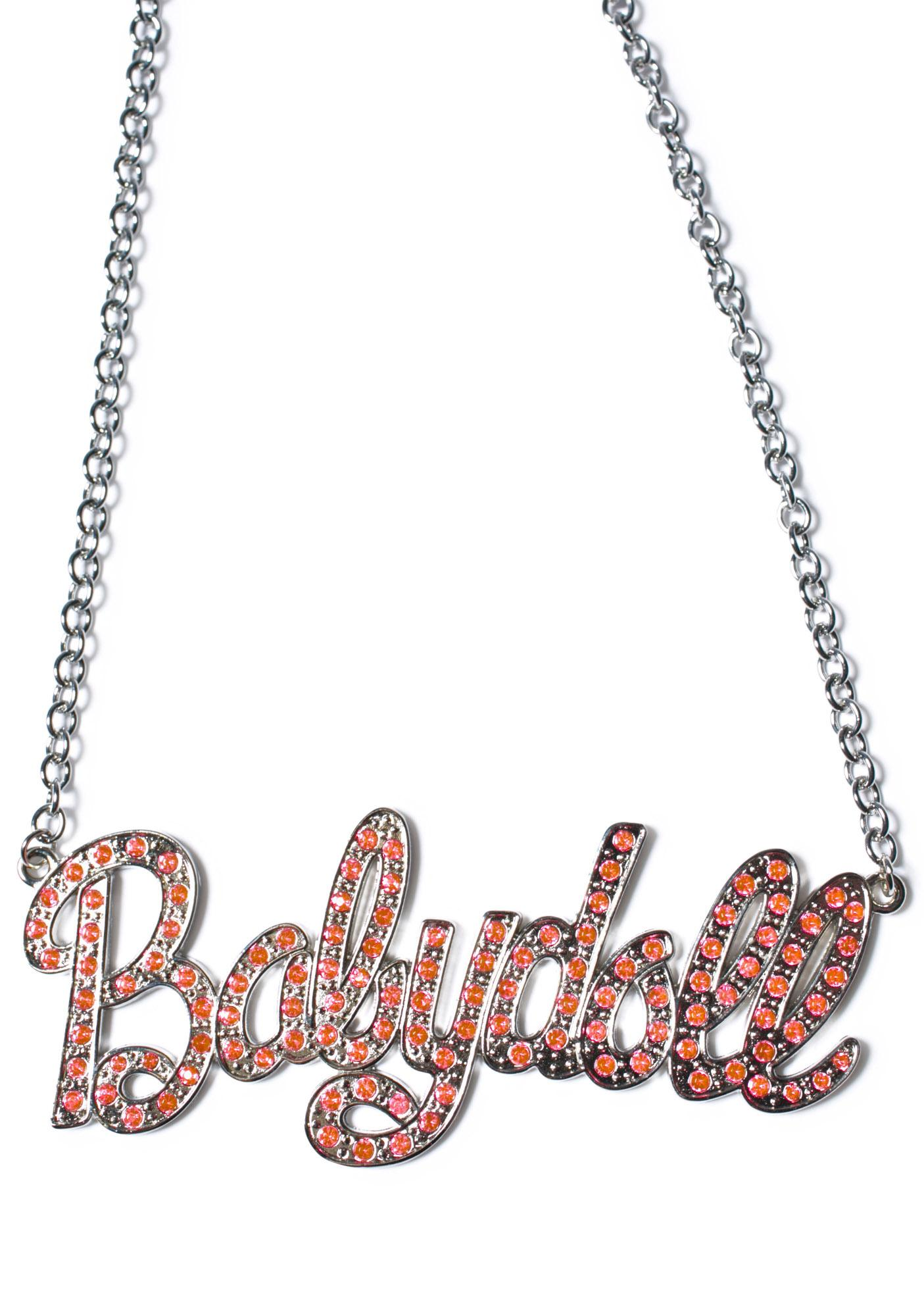 Babydoll Name Plate Necklace
