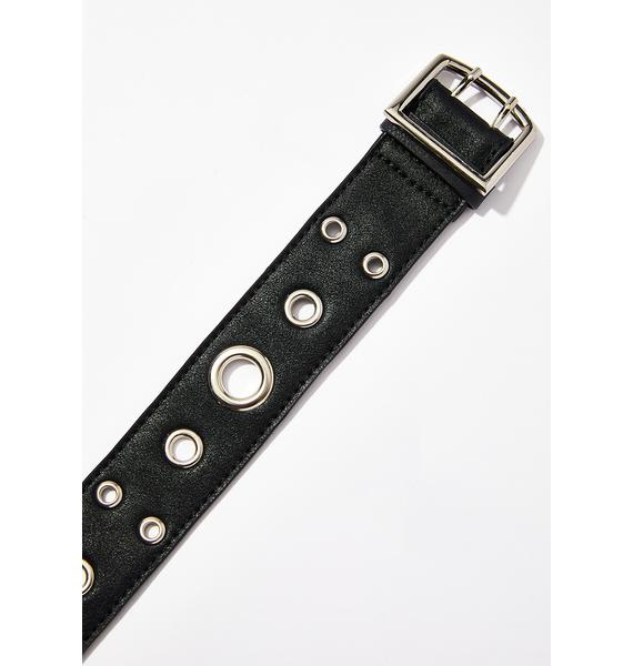 Disturbia Long Eyelet Belt