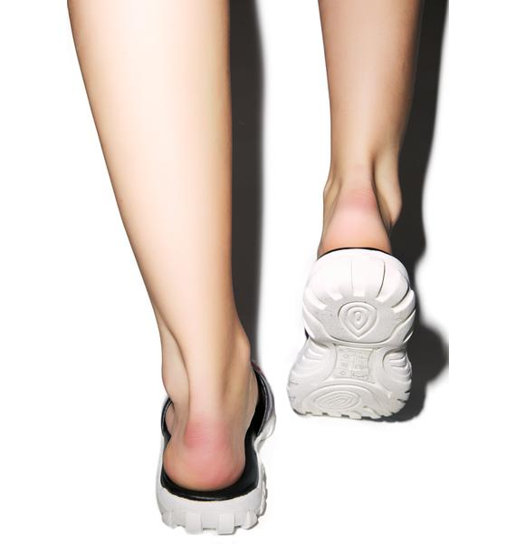 Y.R.U. Iridescent Nile Sandals
