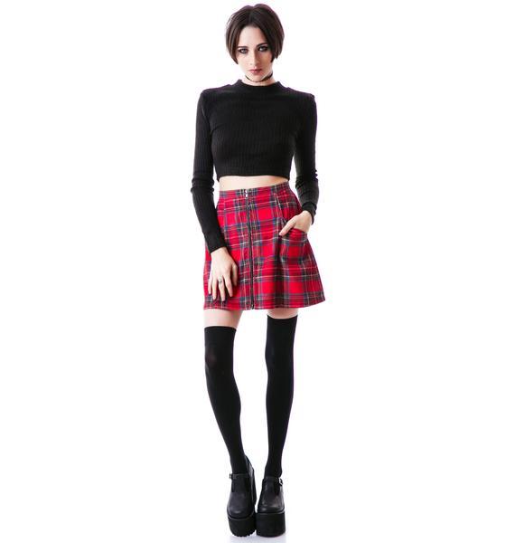 Mink Pink An Education Skirt