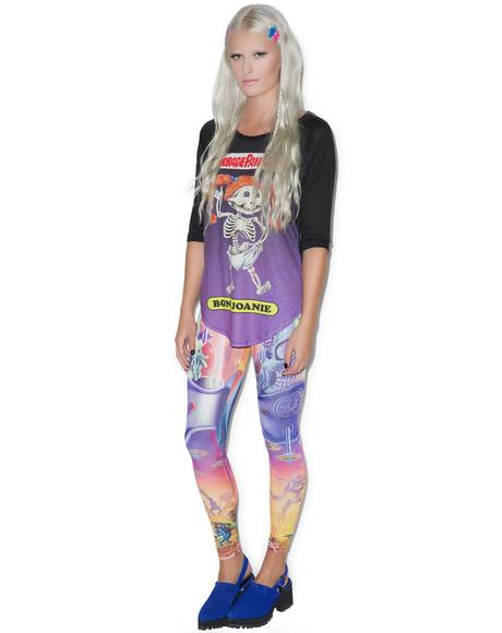 Mars Attacks Full Battle Leggings
