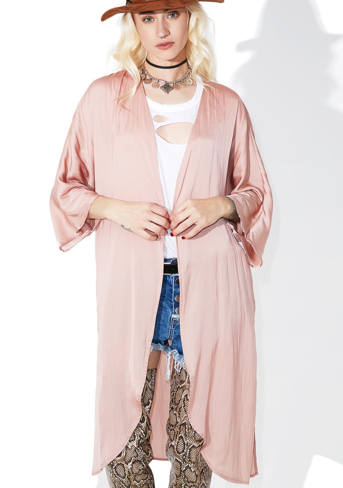Petal Pusher Kimono