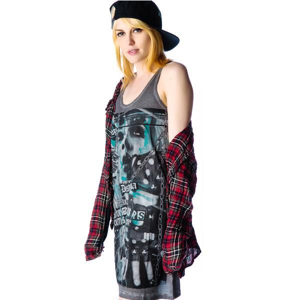 Disturbia Disturbed Youth Tank Dress