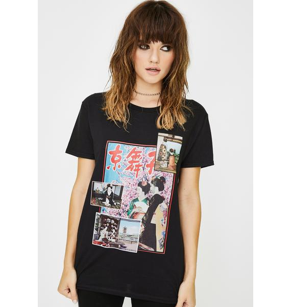 NEW GIRL ORDER Kyoto Graphic Tee