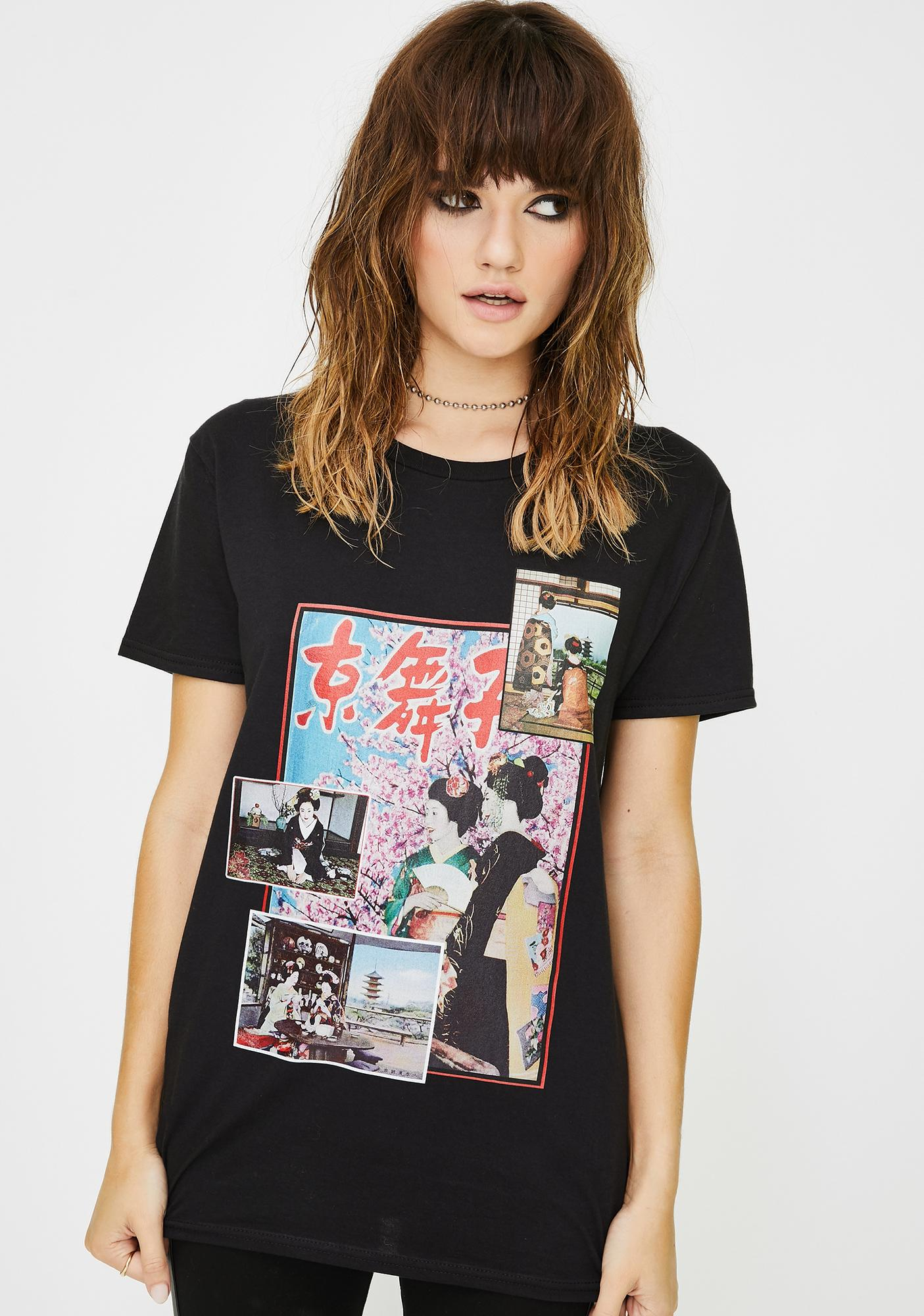 Kyoto Graphic Tee by New Girl Order