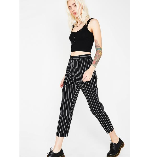 Keep Ur Cool Stripe Trousers