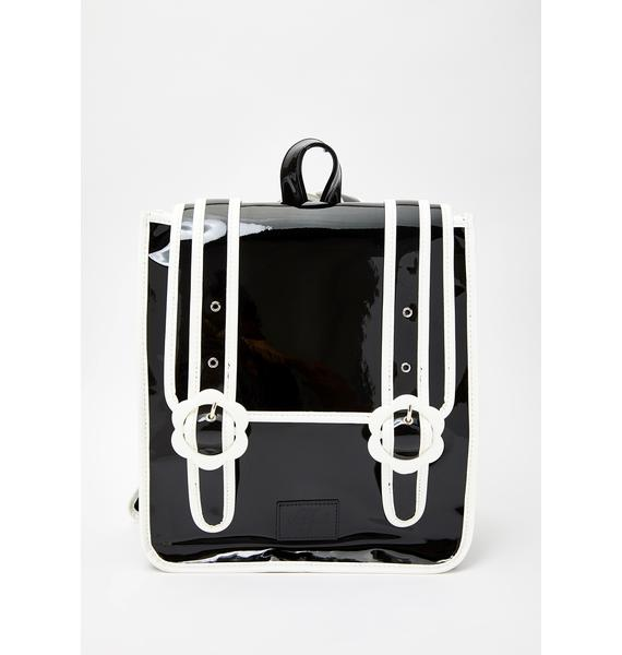 Valfré Daisy Patent Backpack