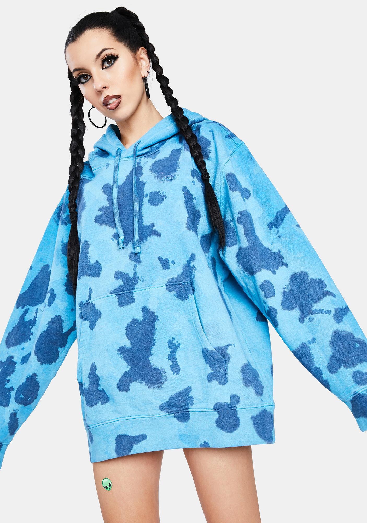 Obey Sustainable Tie Dye Fleece Hoodie