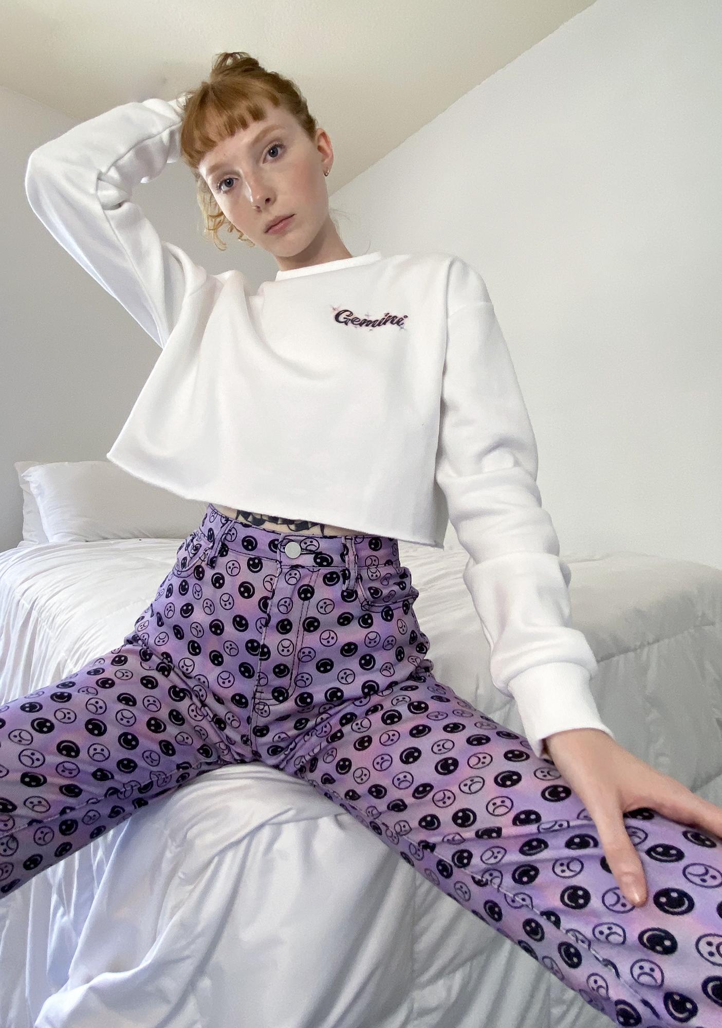 HOROSCOPEZ Gemini Rep Your Roots Airbrush Sweater
