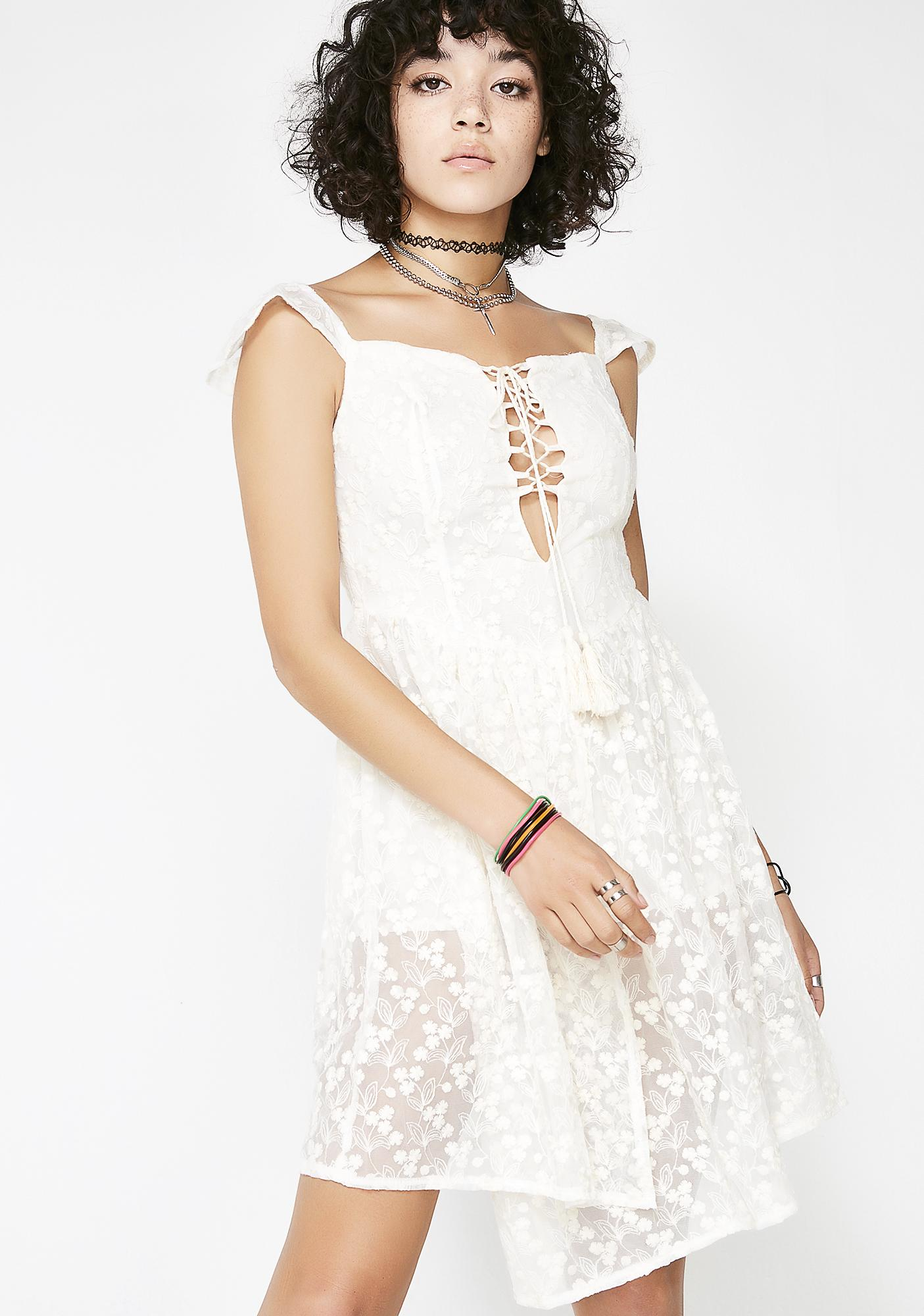 Frolic Frenzy Lace Playsuit