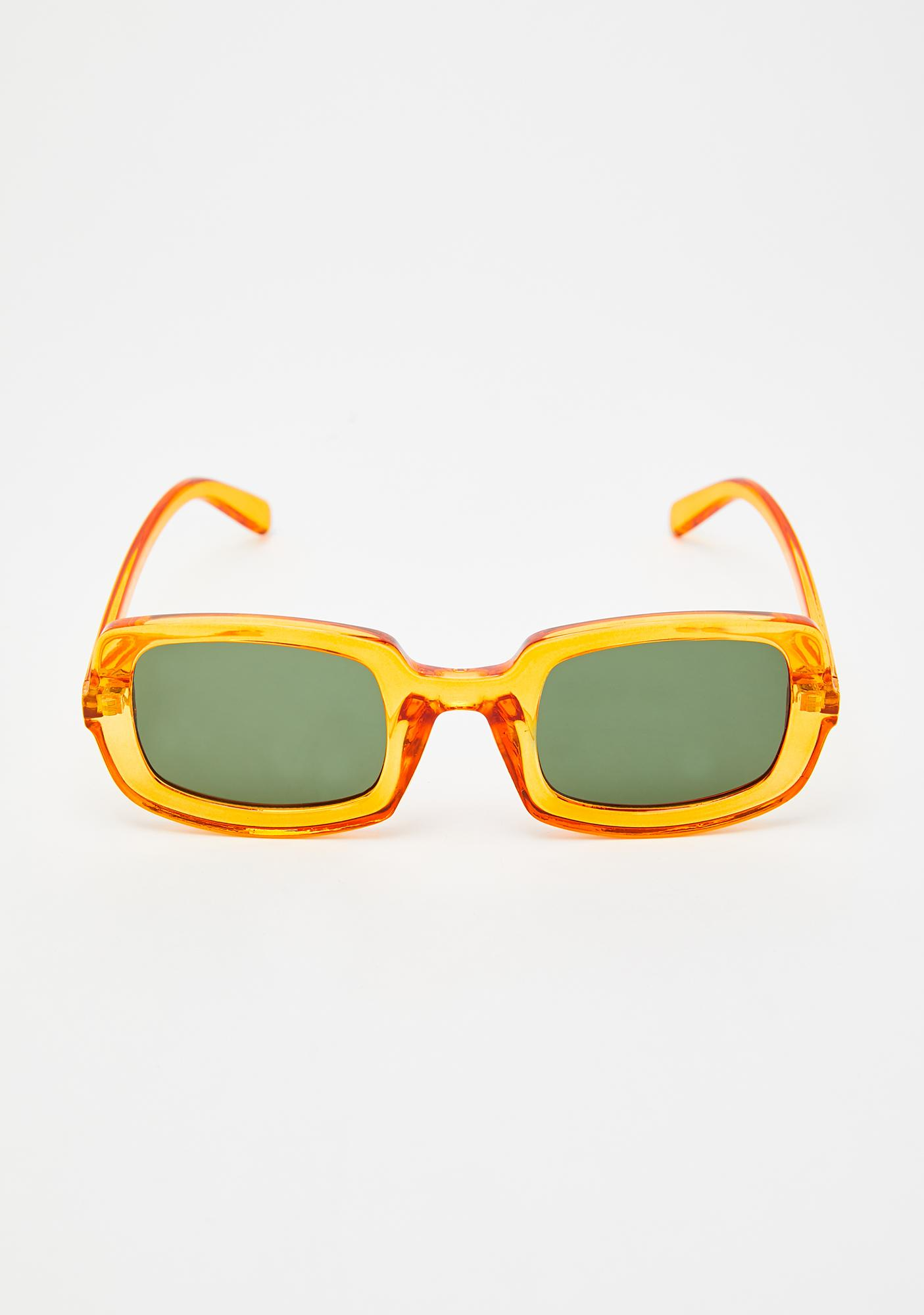Look Me Over Clear Sunglasses