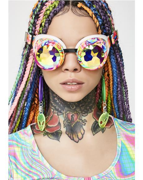 Kandi Swirl Kaleidoscope Goggles