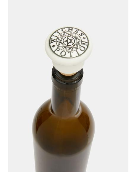 Witches Potion Wine Stopper