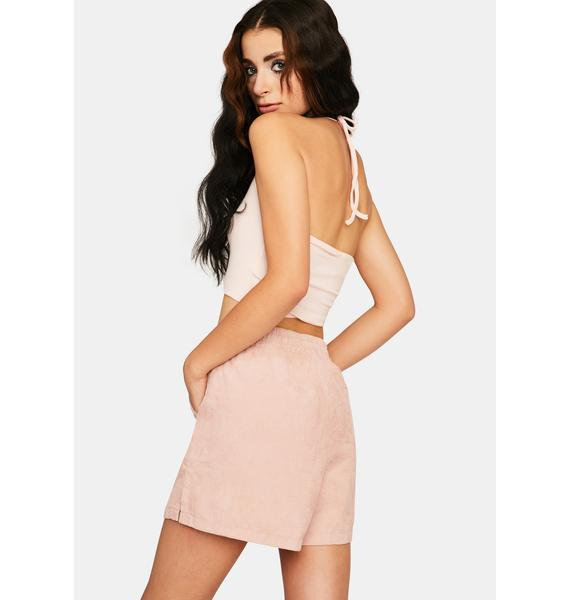 Zee Gee Why Dust Pink Cord Boxing Short