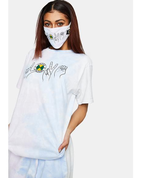 Love Tie Dye T-Shirt