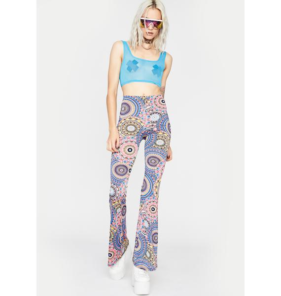 Get Trippy Flared Pants