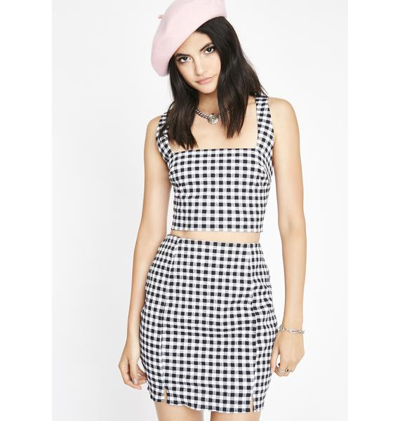 Do It Well Gingham Set