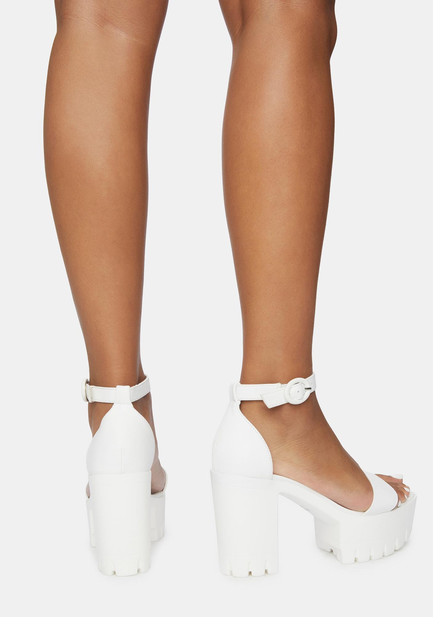Angel Hottie Hotspot Platform Heels