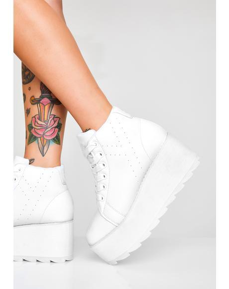 Angelic Lala Hi Platform Sneakers