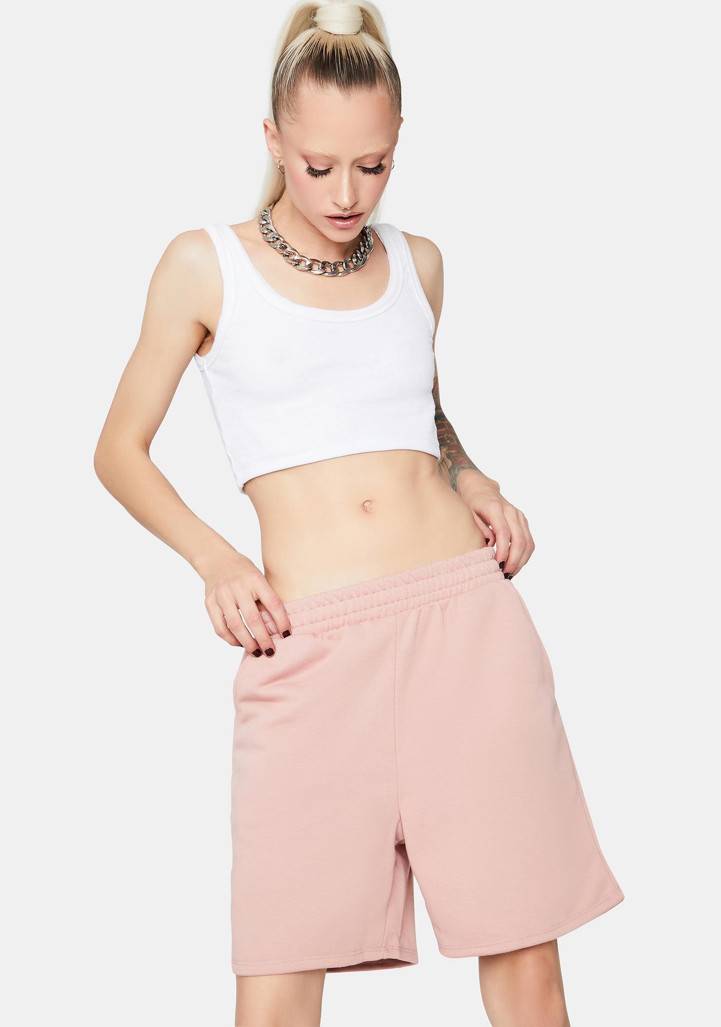 Rose Lazy Sunday Lounge Shorts