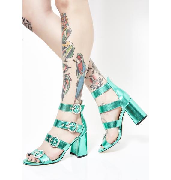 Public Desire Century Strappy Heels