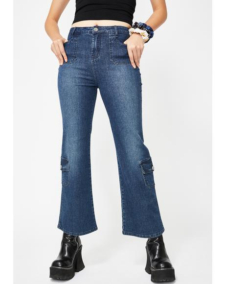 A Sure Thing Crop Jeans