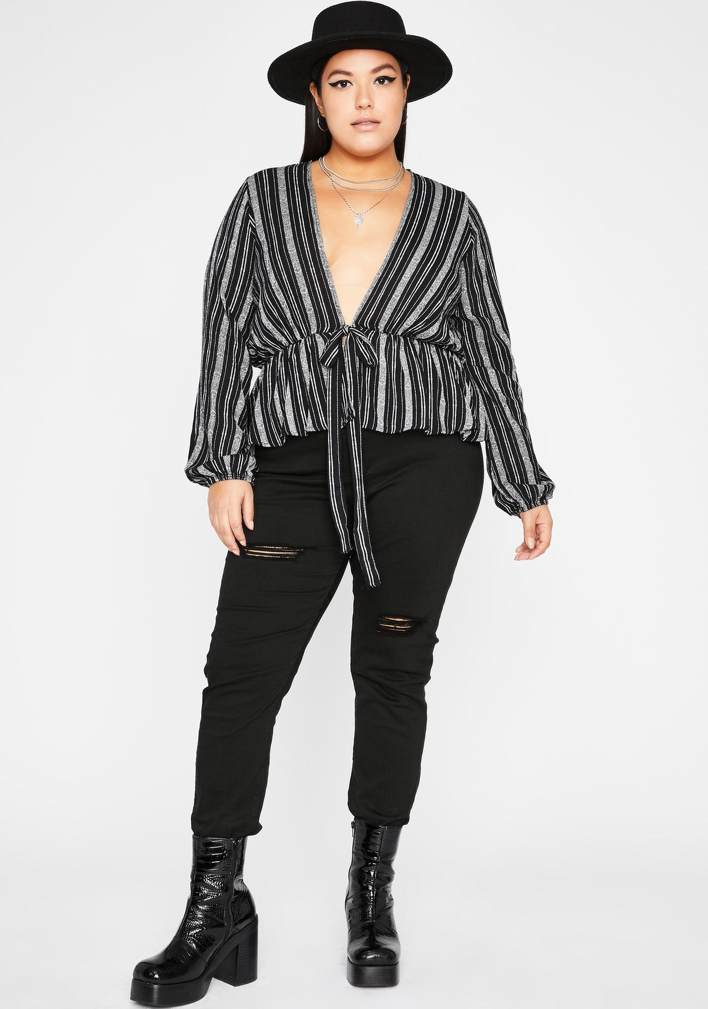 Stay Extra Long Sleeve Top