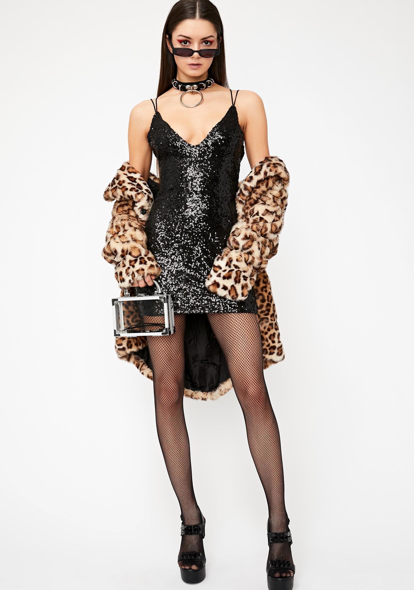 Don't Tell 'Em Sequin Dress