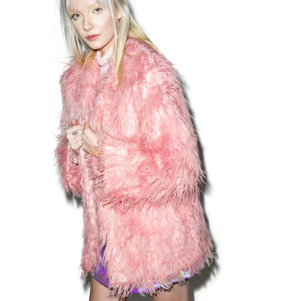 Somedays Lovin Sacred Faux Fur Coat