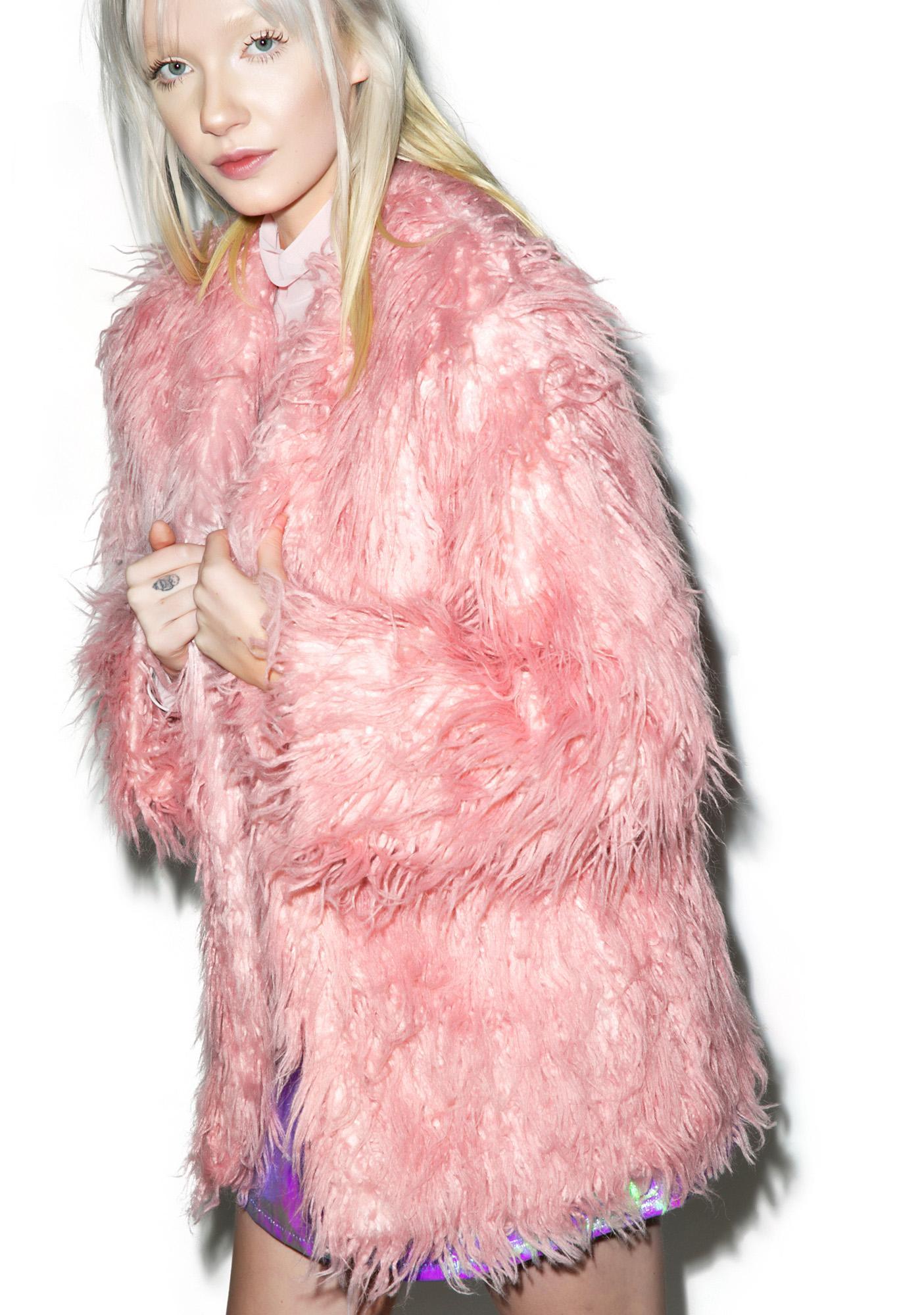 Somedays Lovin Sacred Faux Fur Coat