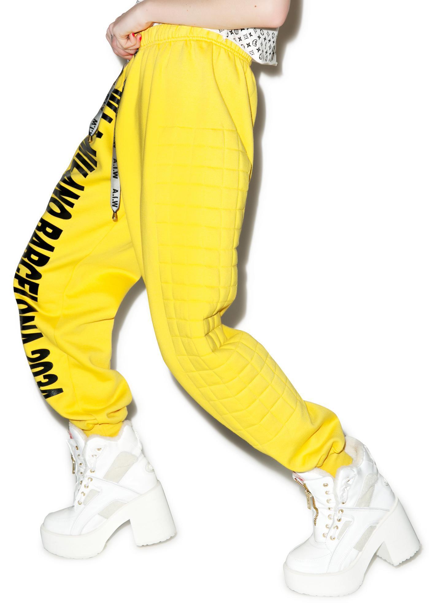 W.I.A Padding Sweatpants