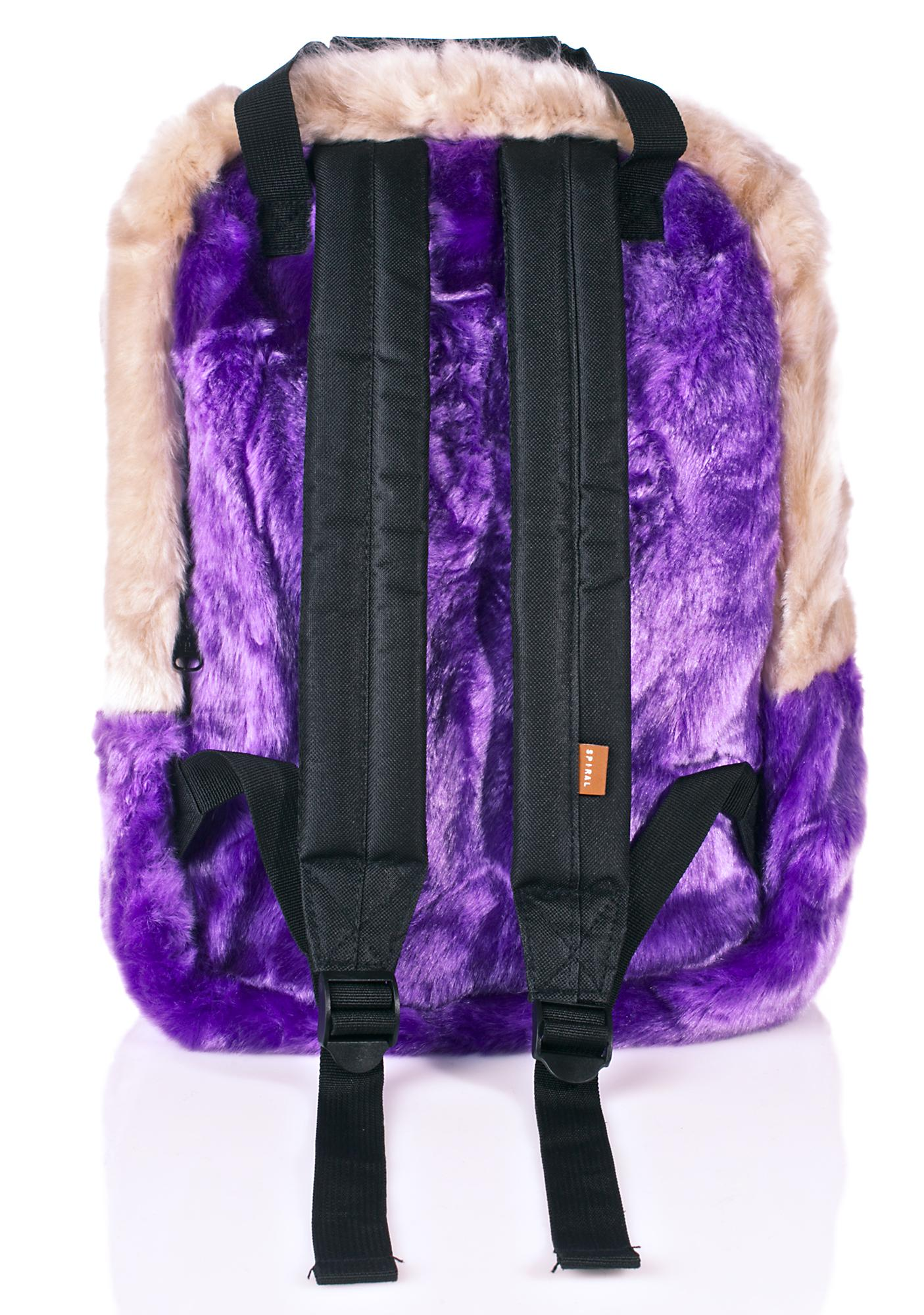 Spiral UK Faux Fur Nude OG Backpack