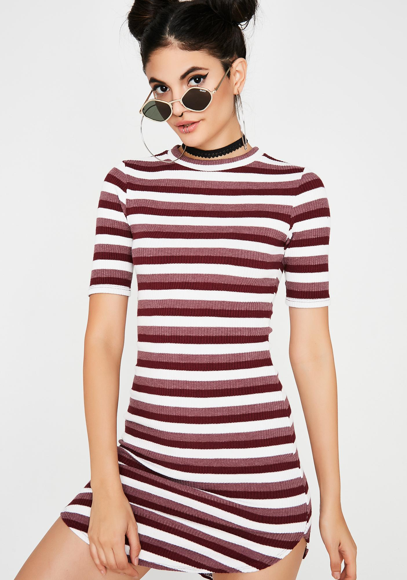 Mod About You Striped Dress