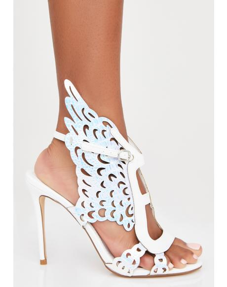 Pure Like Angels Stiletto Heels
