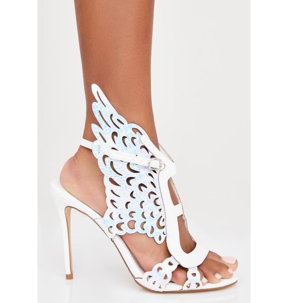 Pure Like Angels Stiletto Heels