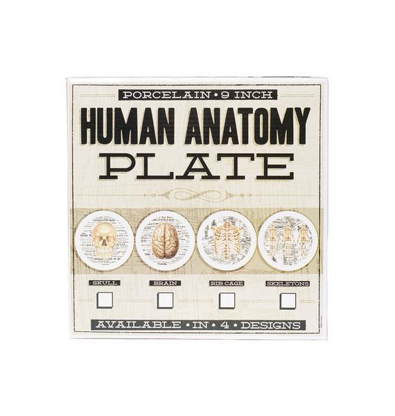 Sourpuss Clothing Skeleton Plate