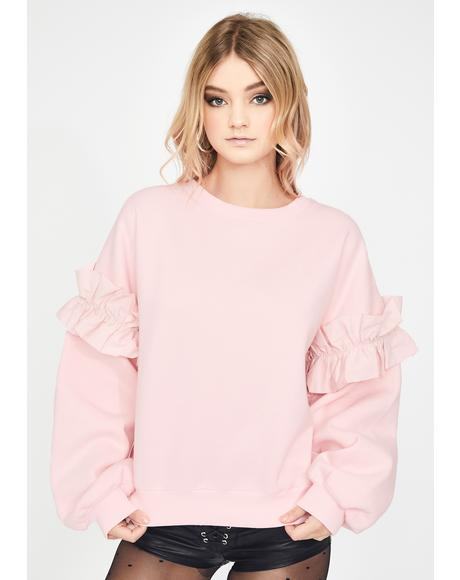 The Party Princess Crewneck Sweater
