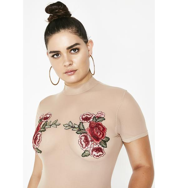 Choose Wisely Rosebud Bodysuit