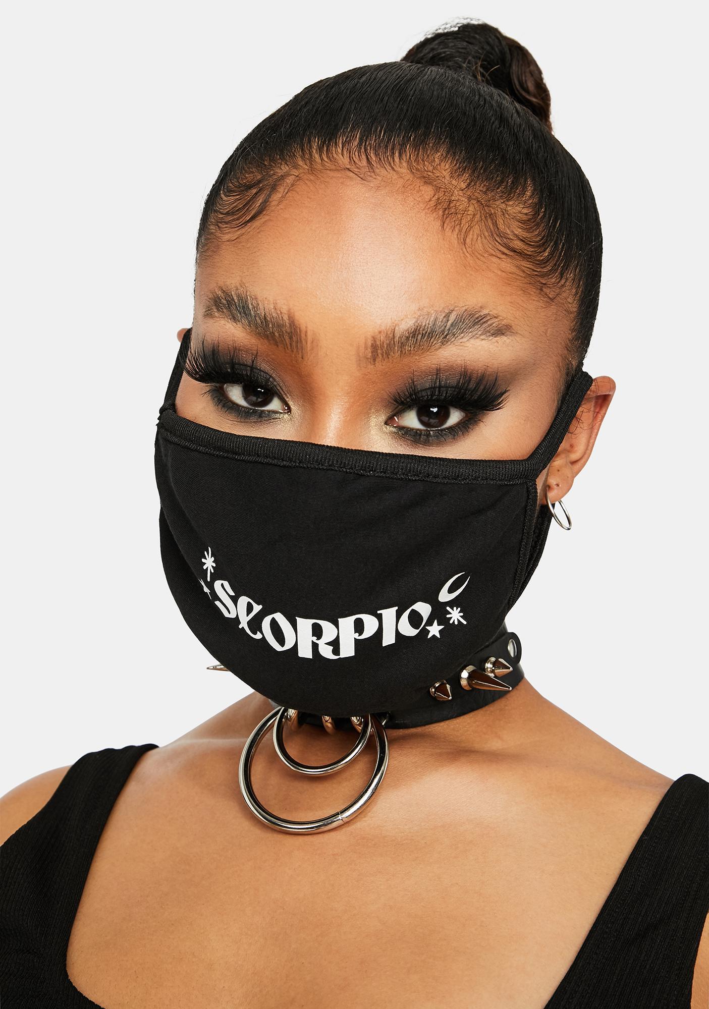 Team Scorpio Face Mask