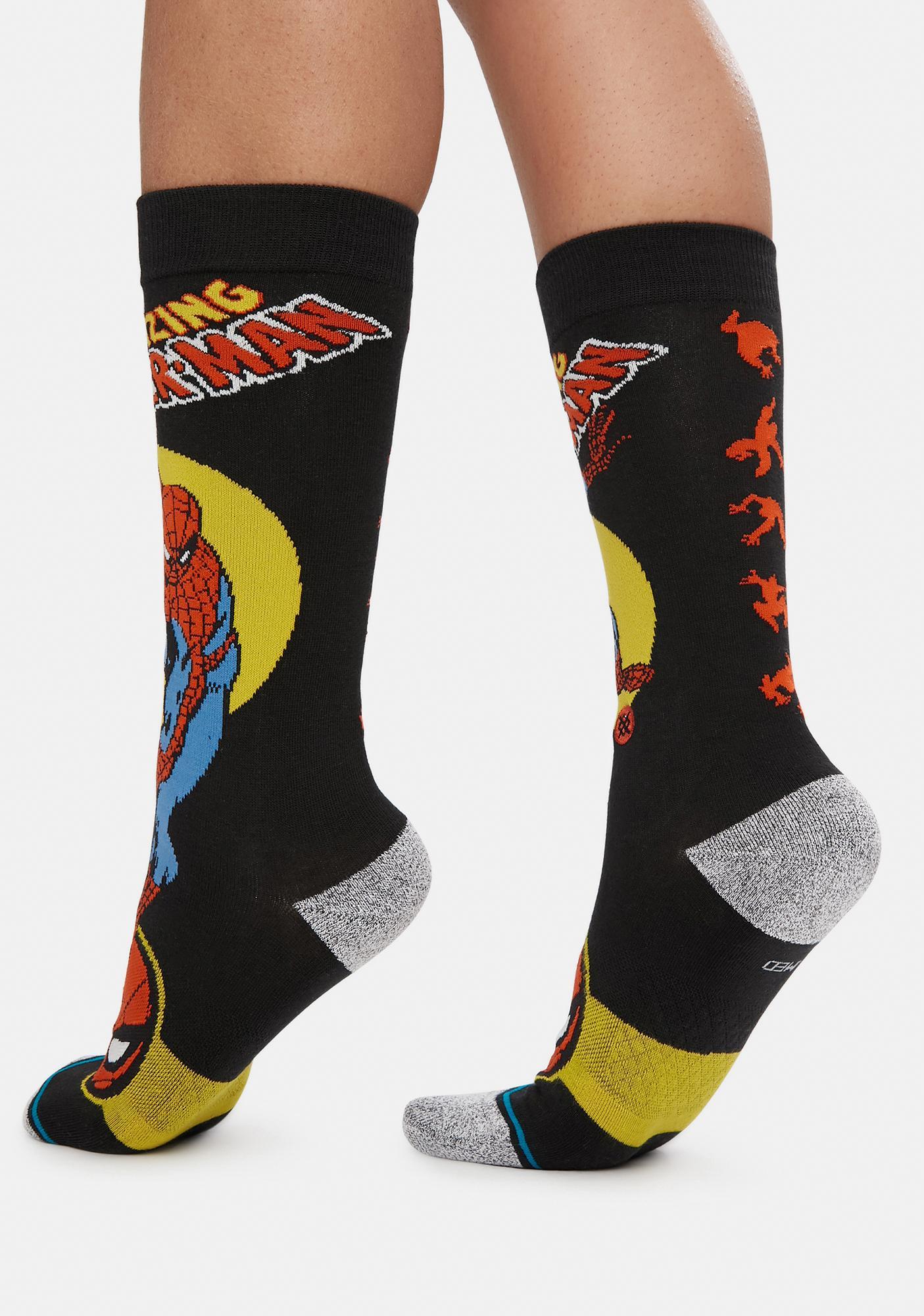 Stance Spider Man Marquee Crew Socks